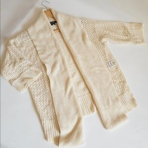 Xoxo 3/4 sleeve cardigan